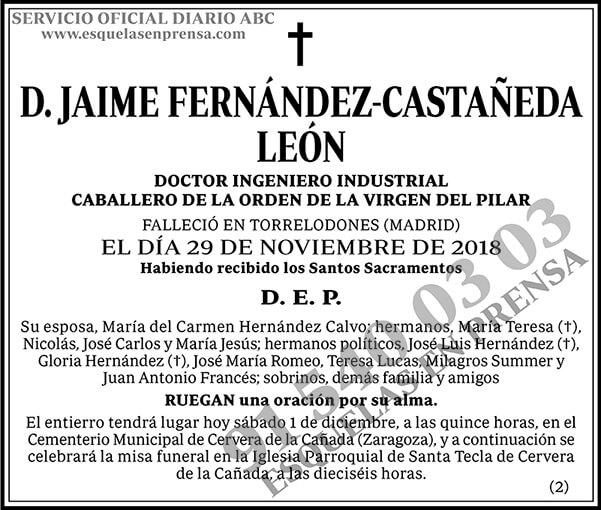 Jaime Fernández-Castañeda León
